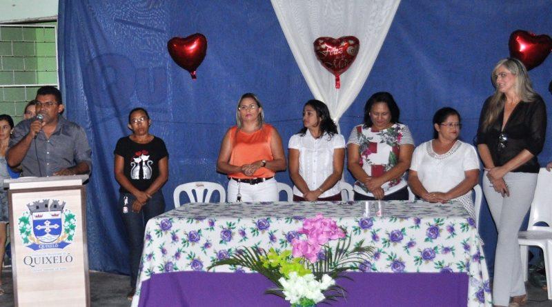 Festa das Mães do Projeto Brincando com o Esporte