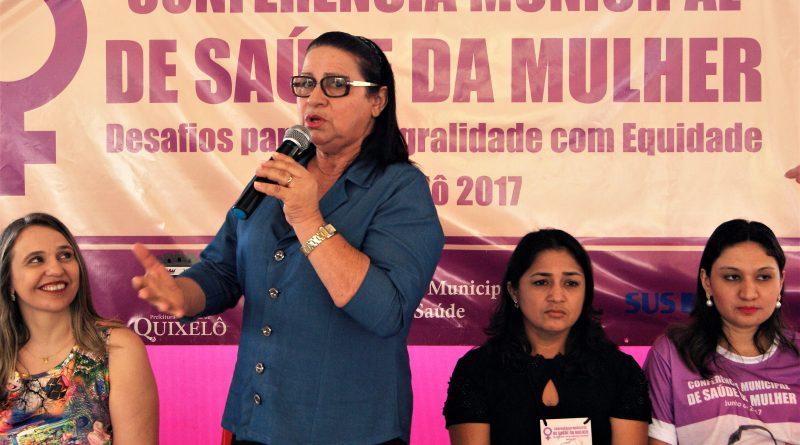 Prefeitura Municipal de Quixelô realiza Conferência Municipal da Saúde da Mulher