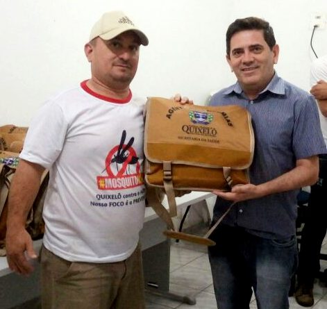 Agentes de Endemias de Quixelô recebem Kits de fardamento e Equipamento de Proteção Individual – EPI's
