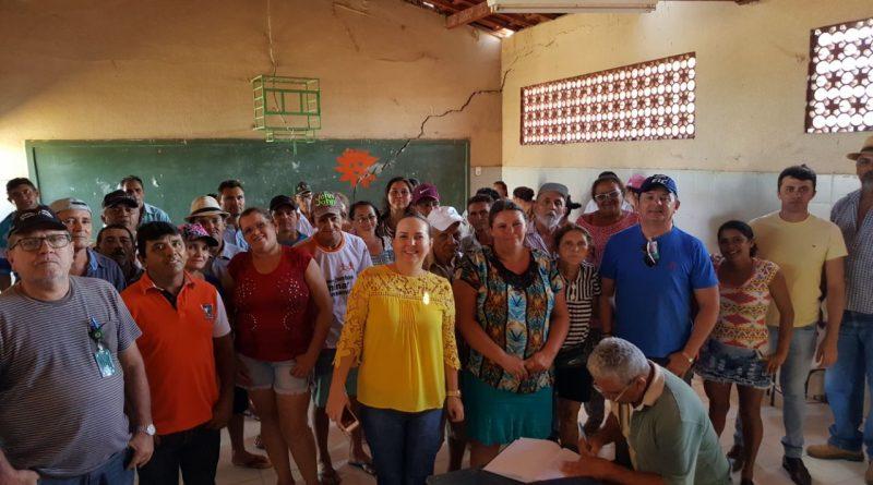 Prefeitura dá início aos preparativos para a obra do sistema de abastecimento de água da Vila Acampamento
