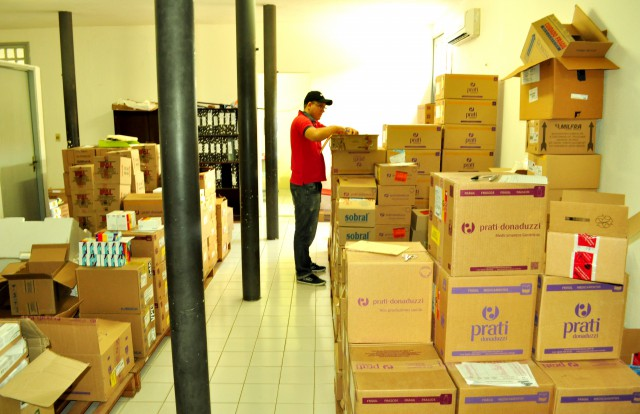 Mais saúde: Grande remessa de medicamentos chega a Quixelô