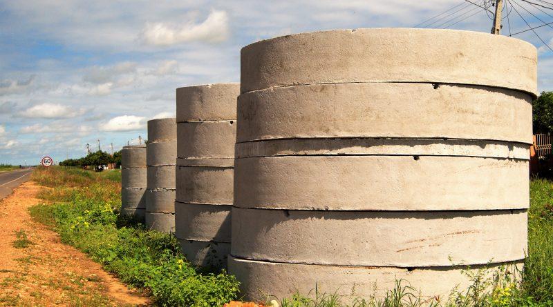 VILA ACAMPAMENTO: Sistema de Abastecimento de Água em fase final de construção