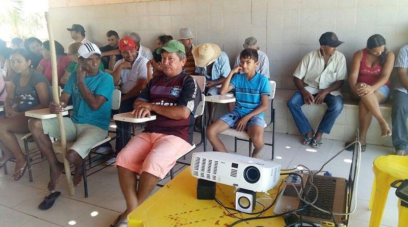 Mini curso sobre Sistemas de Irrigação de Baixo Custo é oferecido pelo banco Paju para a comunidade do Poço da Pedra