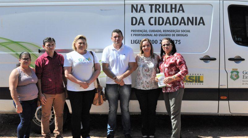 Quixelô recebe a visita da caravana da Secretaria Especial de Políticas sobre Drogas
