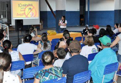 Comitê de Combate e Prevenção ao mosquito Aedes Aegypti realiza reunião com moradores da Vila Antonico