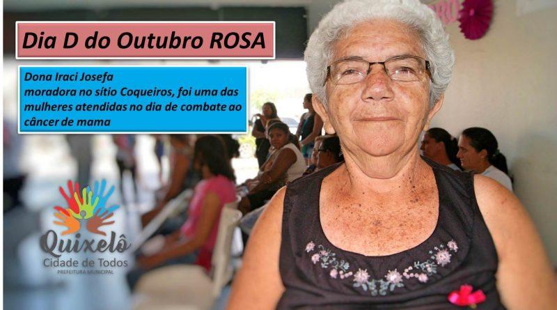 Dia D do Outubro Rosa realiza 80 atendimentos em Quixelô