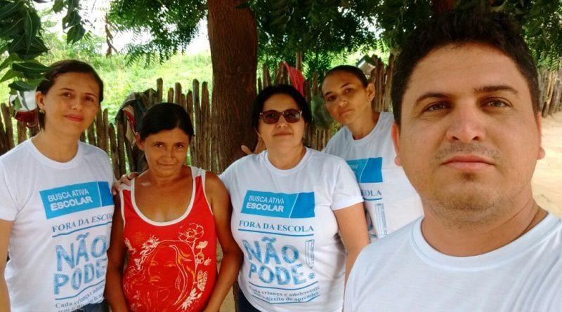 Dia D da Campanha 'Fora da Escola não pode!' aconteceu em Quixelô