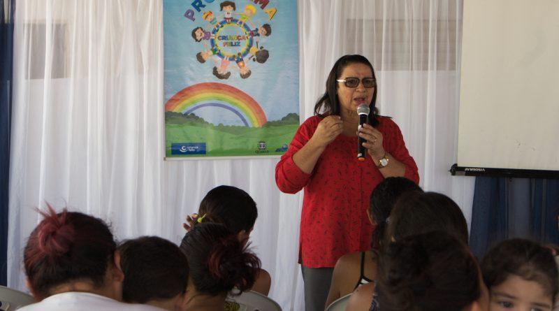 Prefeitura realiza a festa do Dia das Mães do programa Criança Feliz