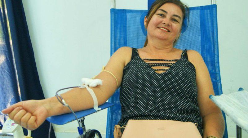 Hemoce realiza o Dia de Doação de Sangue em Quixelô