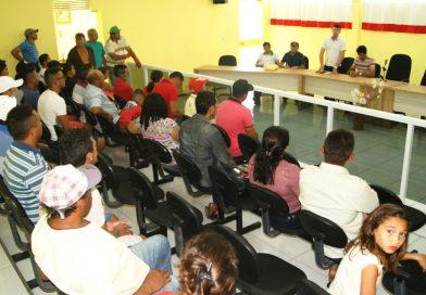 Seguro Safra: reunião com representantes de associações comunitárias é realizada em Quixelô