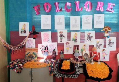 Momento de interação com grupos da terceira idade marca encerramento da Semana do Folclore do CRAS