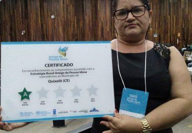 Quixelô Presente no Seminário Nacional de Estratégia Brasil Pessoa Idosa