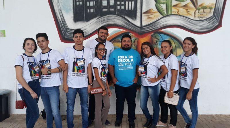 Representantes do NUCA de Quixelô participam de encontro em Juazeiro do Norte