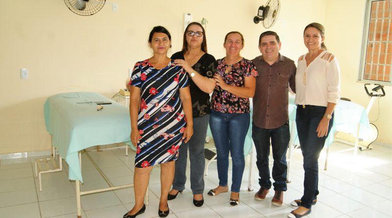 Prefeitura entrega a reforma do Centro de Fisioterapia de Quixelô