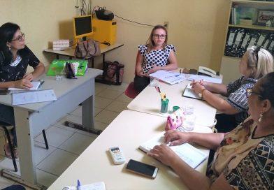 Secretaria de Educação de Quixelô recebe visita da coordenadoria da CREDE 16