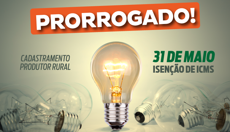 Produtores rurais do Ceará têm até 31 de maio para fazer o cadastro de isenção de ICMS na conta de energia