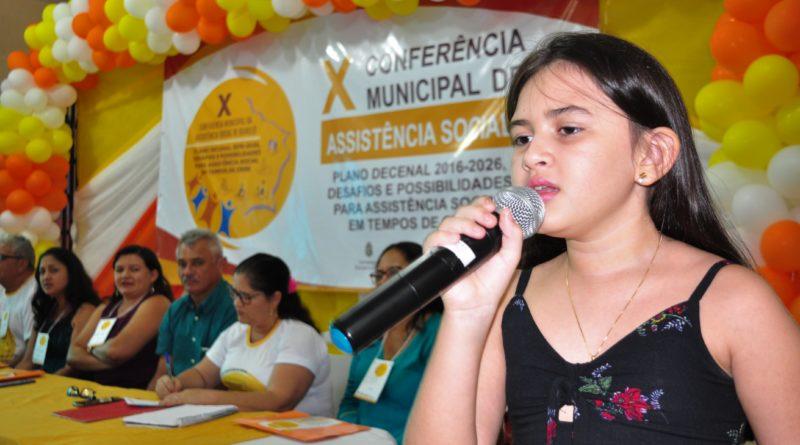 X Conferência de Assistência Social aconteceu sob o tema 'Desafios e possibilidades em tempos de crise'