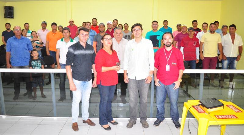 PRODETER realiza capacitação sobre crédito fundiário em Quixelô